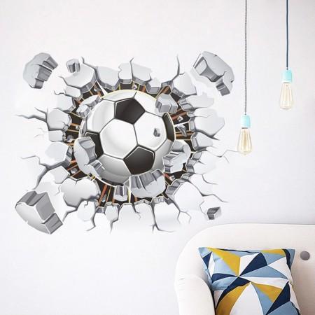 Wandtattoo 3D Ball