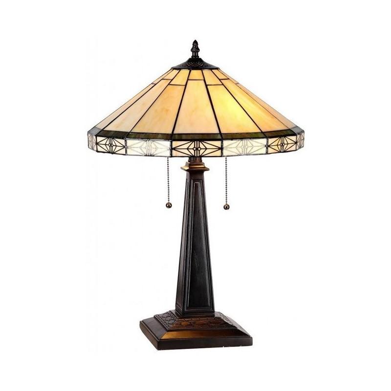 Tiffanylampe Charon