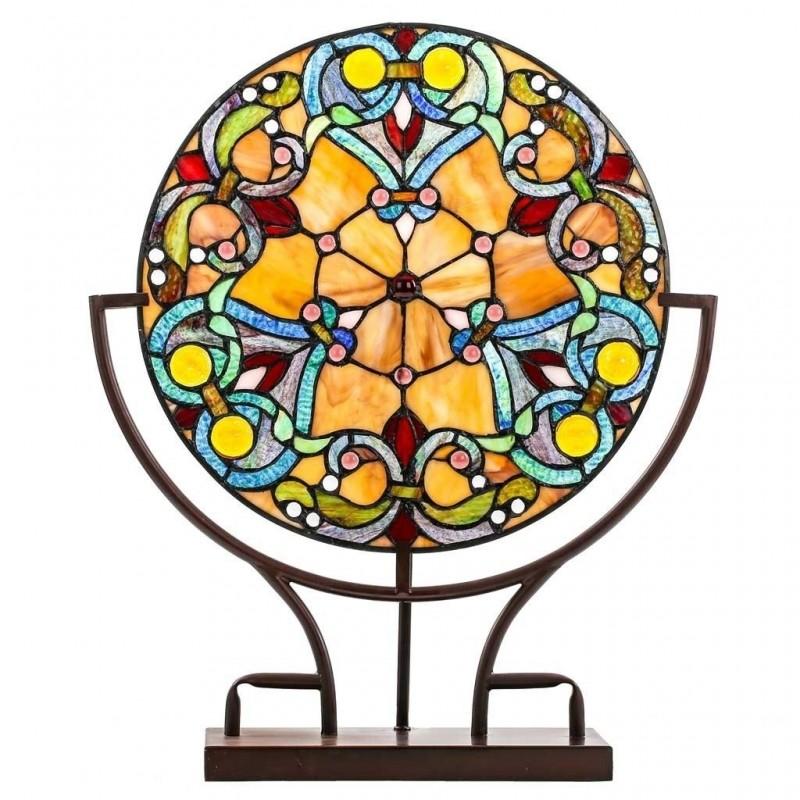 Tiffanylampe Mandala