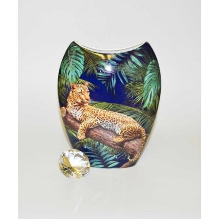 Jaguar Blumenvase