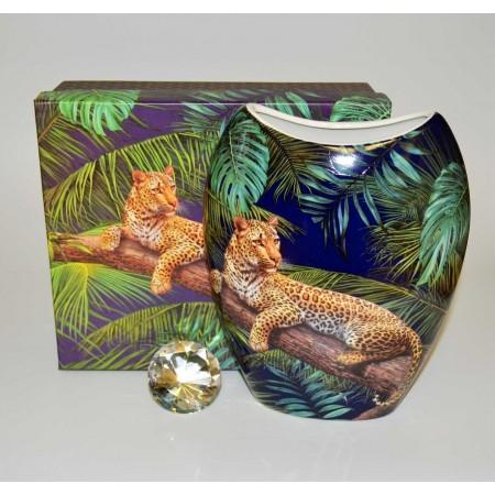 Leopard Tischvase