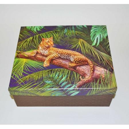 Leopard Geschenkbox