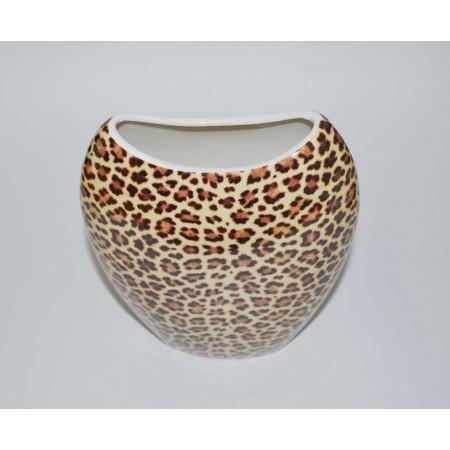 Blumenvase Leopard