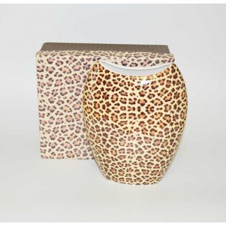 Tischvase Leopard