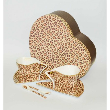 Kaffeetassen Leopard