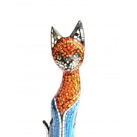 Mosaikfigur Katzen
