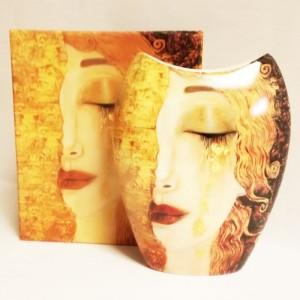 Gustav Klimt Vase Motiv...