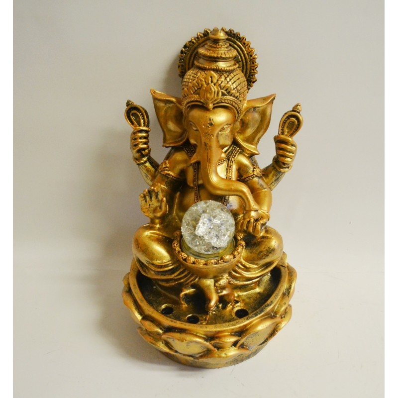 Zimmerbrunnen Ganesha Meditation