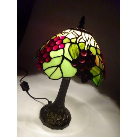 Tiffanylampe Weintrauben