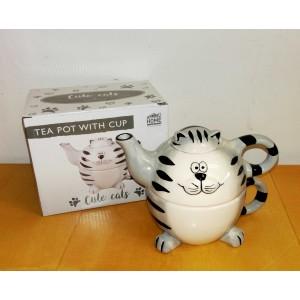 Tea for One Happycat