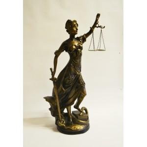 Justizia Justitia Figur
