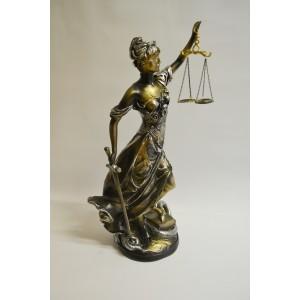 Justitia Justizia Figur