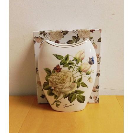 Tischvase Teerose Blumenvase
