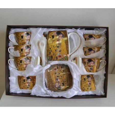 Klimt 21teiliges Tee Kaffeetassenset