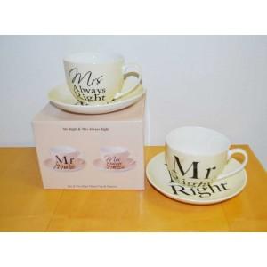 Tassenset Mrs. and Mr....